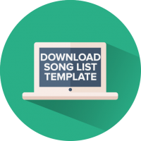 song list template
